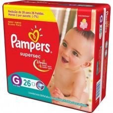 Fralda Pampers S.sec Pctao C/26 G