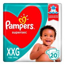 Fralda Pampers S.sec Pctao C/20 Xxg