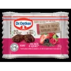 Tablete De Frutas Vermelhas E Chia Dr.otker C/ 3 Uni.