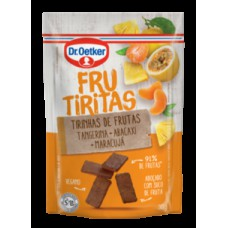 Frucubitos De Tangerina, Abacaxi E Maracujá Dr.otker 30g