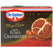 Chá F&f Romã E Cranberry - 15 Saches Dr. Oetker 30g