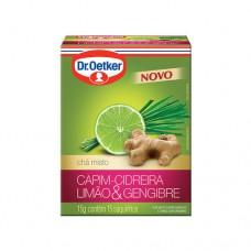 Chá De Cidreira, Limão E Gengibre - 15 Saches Dr. Oetker 15g