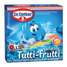 Gelatina Tutti-frutti Dr. Oetker 20g