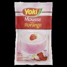 Yoky Mousse De Morango 70g