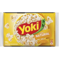 Yoky Popcorn Micro Natural 100g