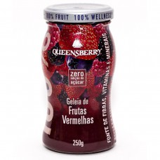 Geleia Queensberry De Frutas Vermelhas Wellness 100% 250gr