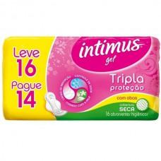 Abs Intimus Gel Leve 16 Pague 14 Seca Com Abas