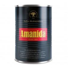 Azeitona Amanida Preta Temperada  4kg