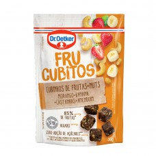 Frucubitos De Morango, Banana E Nuts Dr.otker 30g