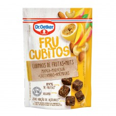 Frucubitos De Manga, Maracujá E Nuts Dr.otker 30g