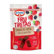 Frucubitos De Frutas Vermelhas Dr.otker 30g