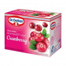 Chá De Cranberry - 10 Saches Dr. Oetker 10g