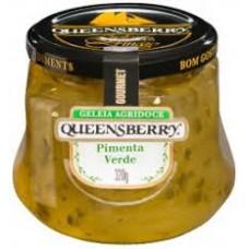 Geléia Queensberry De Pimenta Verde Gourmet 320 Gr