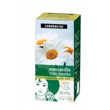 Chá Carmencita Camomila C/ Hortela 32,5g