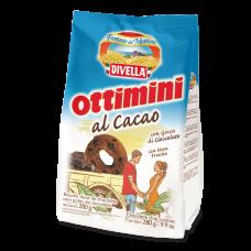 Biscoito Divella Ottimini Cacau Magro  280g