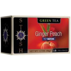 Chá Stash Verde De Gengibre E Pêssego 36g