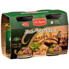 Molho Pesto Alla Genovese La Pastina (02 Embalagens 90g) 180g