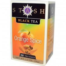 Chá Stash Preto Com Laranja E Especiarias 38g