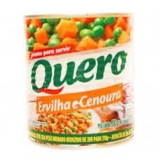 Ervilha E Cenoura Quero 170g