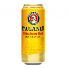 Cerveja Alemã Paulaner Munc Hell Lager Lt- 0
