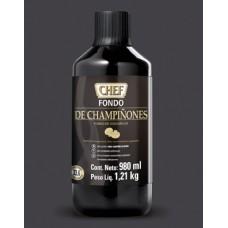 CHEF® Fundo Líquido Cogumelos 0,98L