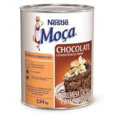 Recheio e Cobertura Chocolate MOÇA 2,54kg
