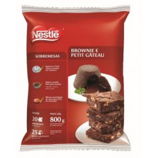 Brownie e Petit Gateu Nestle 800g - 0