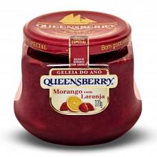 Geleia Queensberry De Morango Com Laranja 320gr