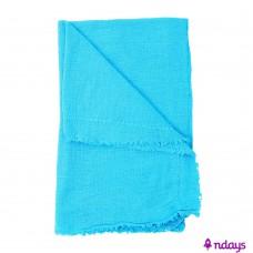 Saco Alvejado Azul Rajado