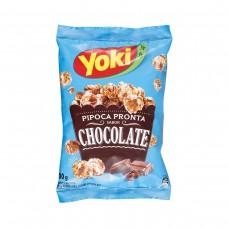 Yoky Pipoca Pronta Chocolate 50g