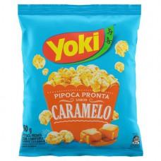 Yoki Pipoca Pronta Caramelo 50g