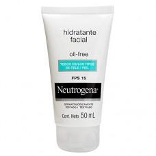 Hidratante Facial Fps 15 Neutrogena Oil-free Caixa 50ml