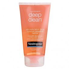 Sabonete LÍquido Grapefruit Natural Facial Neutrogena Deep Clean 150g