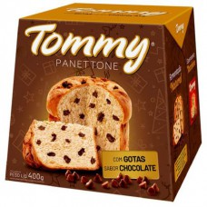 Panettone Tommy Gotas De Chocolate 400g