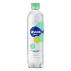 Água Saborizada Com Gás Limão Crystal Sabores Garrafa 510ml