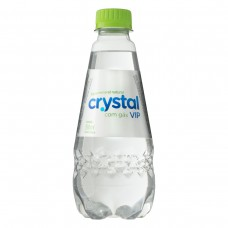 Água Mineral Natural Com Gás Crystal Vip Garrafa 350ml- 1