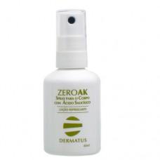 Zeroak Spray Para O Corpo Dermatus - Tratamento Antiacne 40ml