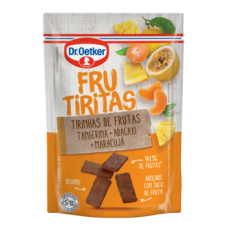 Frucubitos De Tangerina, Abacaxi E Maracujá Dr. Oetker 30g