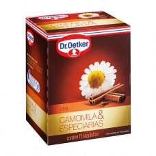 Chá De Camomila Com Especiarias - 15 Saches Dr. Oetker 15g