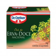 Chá De Erva Doce - 10 Saches Dr. Oetker 10g