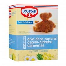 Chá De Erva Doce,capim-cidreira E Camomila - 10 Saches Dr. Oetker 10g