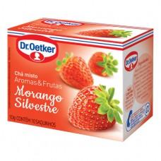 Chá Morango Silvestre - 10 Saches Dr. Oetker 10g