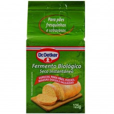 Fermento Biológico A Vacuo Dr. Oetker 125g