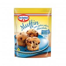 Muffin C/ Gotas De Chocolate Dr. Oetker 185g