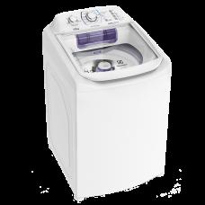 Lavadora Compacta Electrolux 12 Kg Com Dispenser Autolimpante E Cesto Inox (lac12) 127v