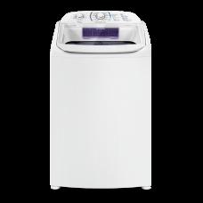 Máquina De Lavar 17 Kg Turbo Electrolux Branca Com Cesto Inox E Silenciosa Sem Agitador (lpr17) 220v