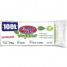 Saco Para Lixo Embalixo Vegano - 100l - C/ 15 Sacos