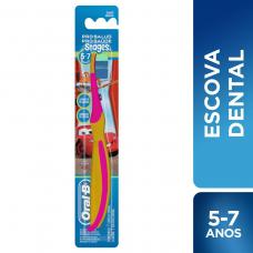 Escova Dental Infantil Oral-b Stages 1 Unidade (5-7anos)