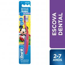 Escova Dental Pro-saúde Stages 2 Mickey-minnie