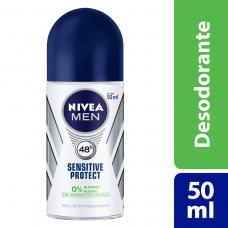 Desodorante Roll On Nivea For Men Sensitive 50ml